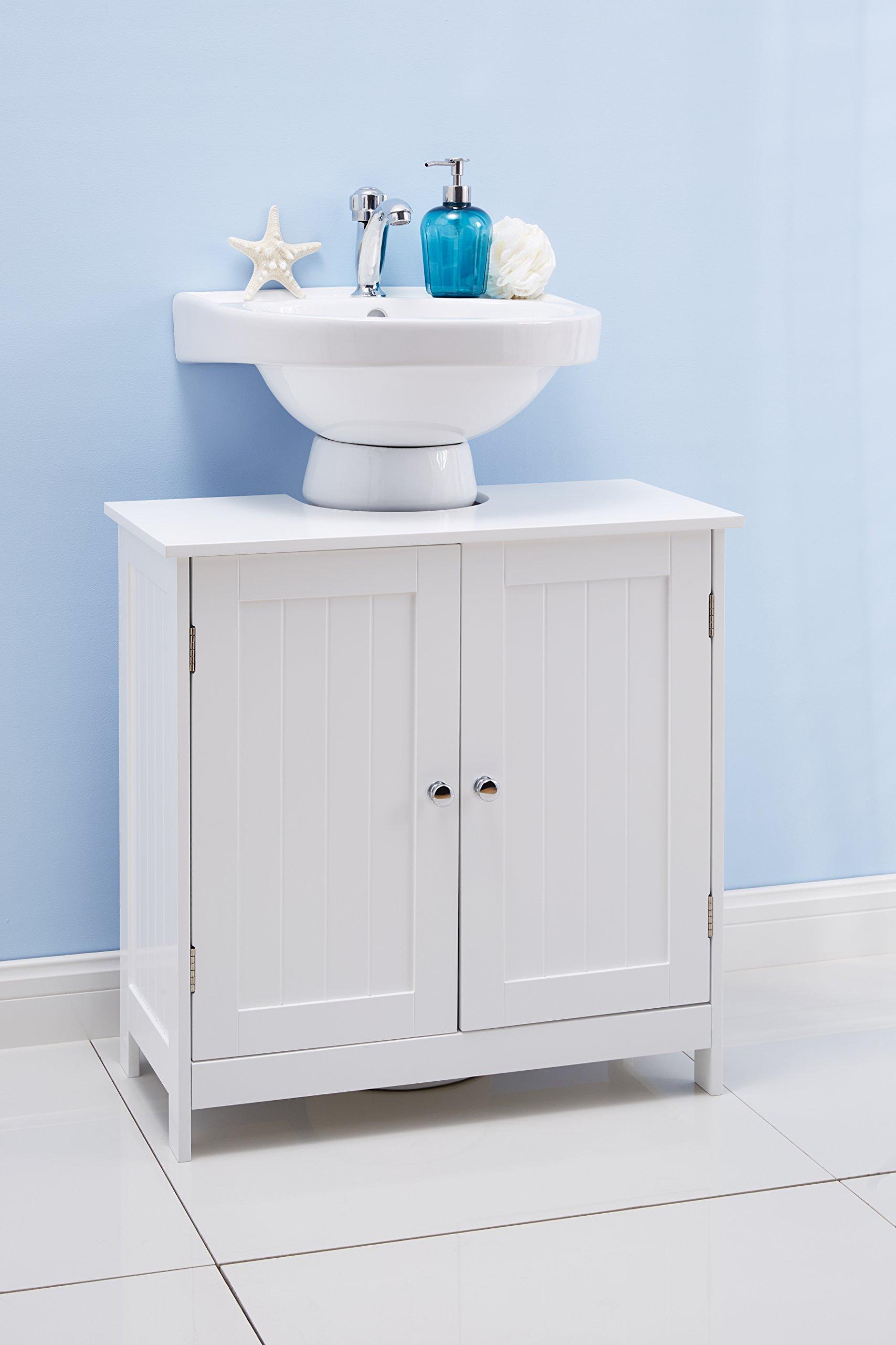 Portland Under Sink Bathroom Cabinet White - Buy Online in ...