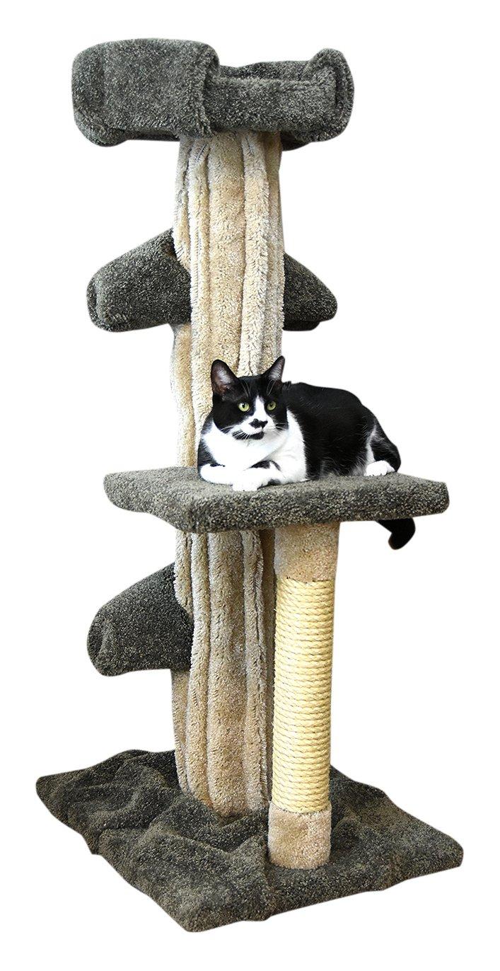 Prestige Cat Trees Green Unique Cat Play Tree, Large