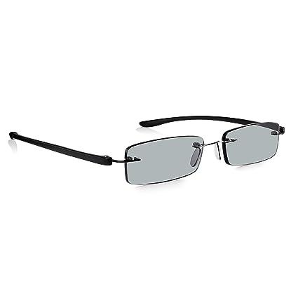 Read Optics Hombre/Mujer Gafas de Sol Graduadas de Lectura (+1.5 Dioptrías)-Lentes de Leer Tintadas Protección UV-400 con Sistema de Fijación ...