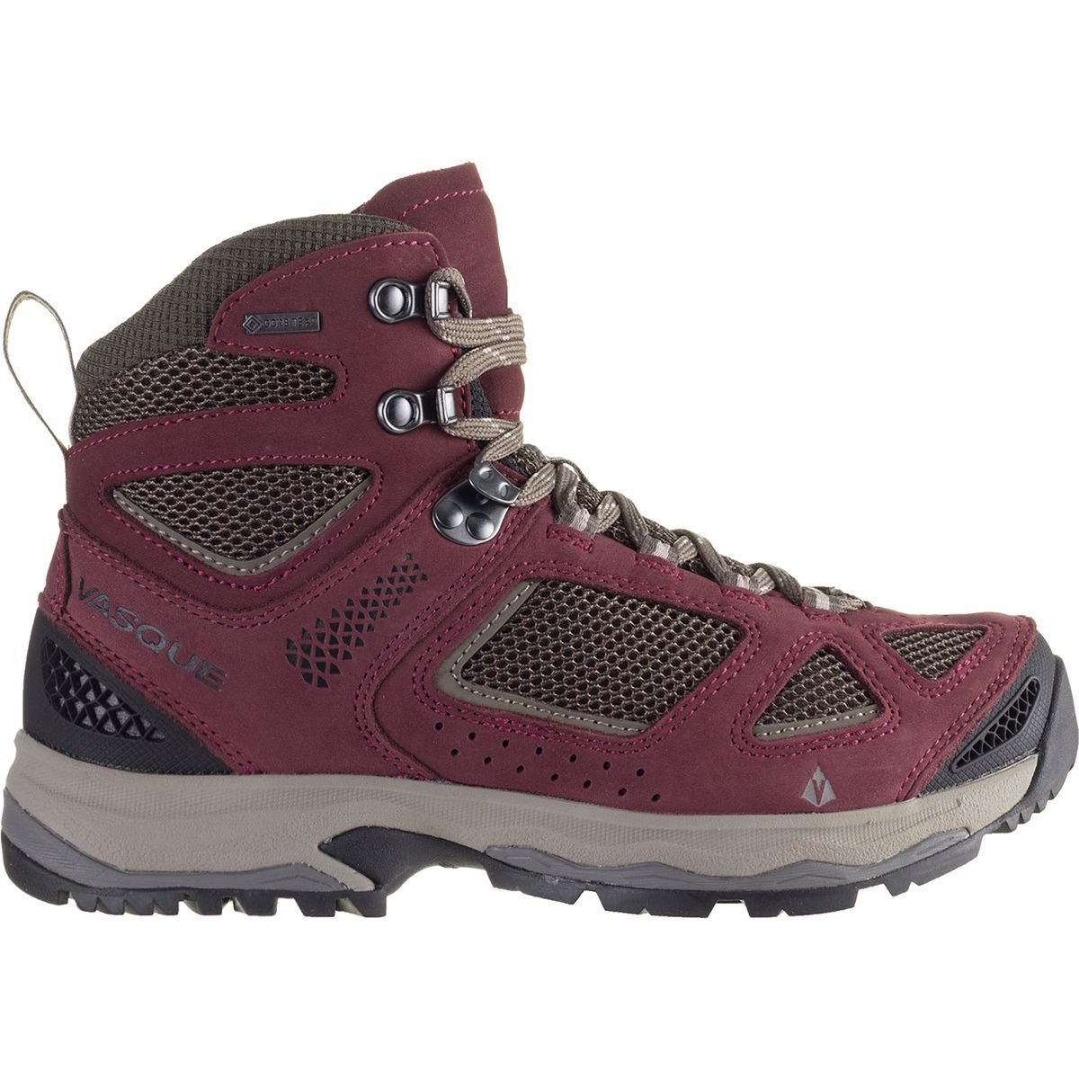 7144c7af26928 Vasque Breeze III GTX Hiking Boot - Women's Red/Brown Olive, 12.0