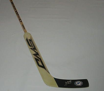 Jordan Binnington Autographed Stick Goalie Proof Autographed Nhl