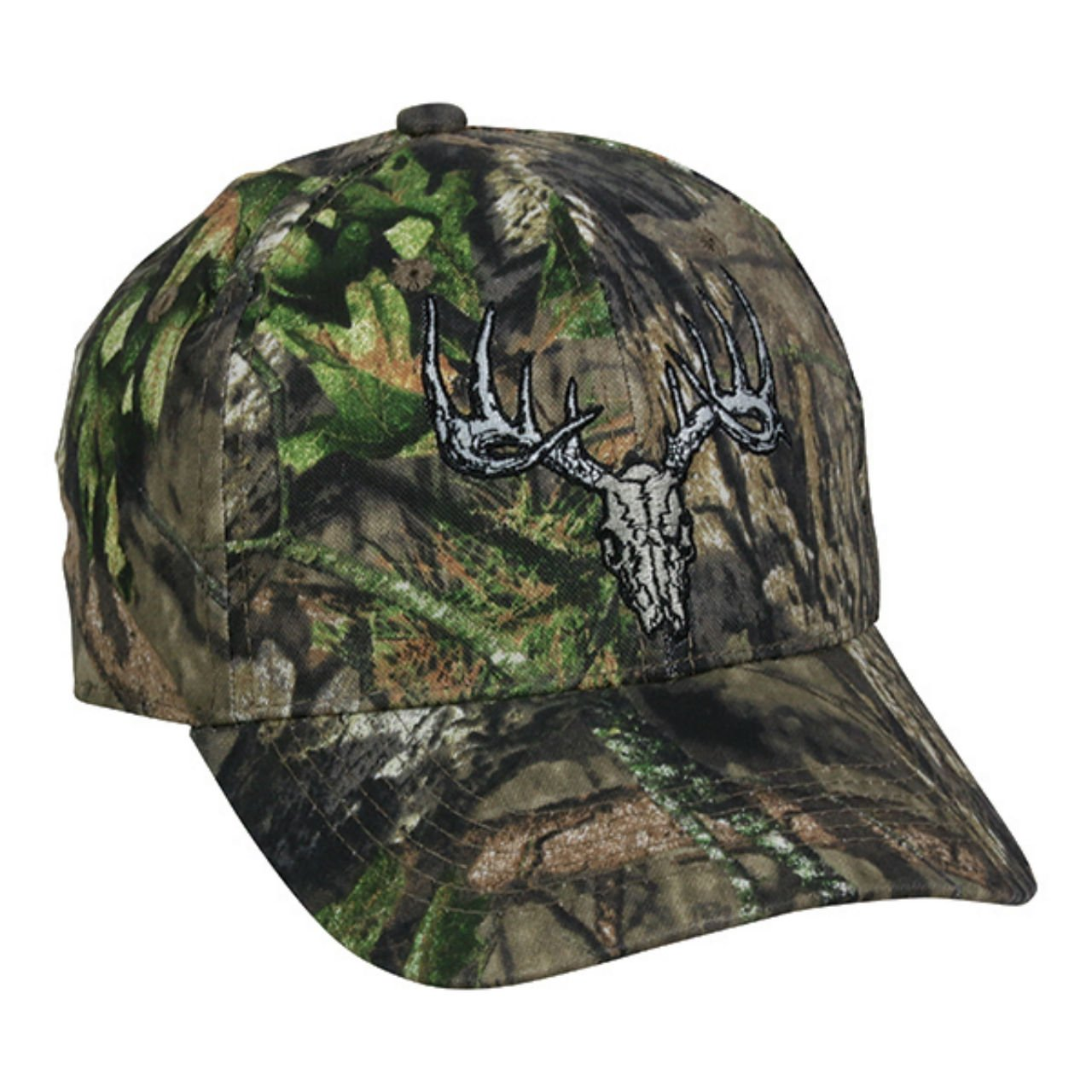 f90530434d0 Amazon.com   Outdoor Cap Mossy Oak Country Deer Skull Camo Hunting Hat    Sports   Outdoors