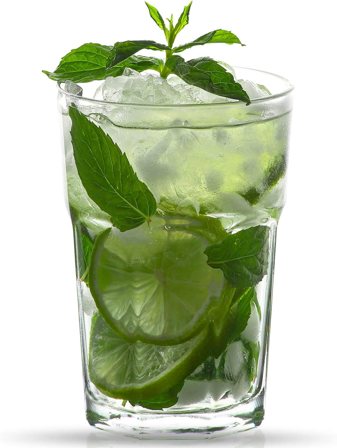 Set of 6 Glasses for Water Soda Beer Coke Coctails Cold Beverages Drinks 12.25 OZ