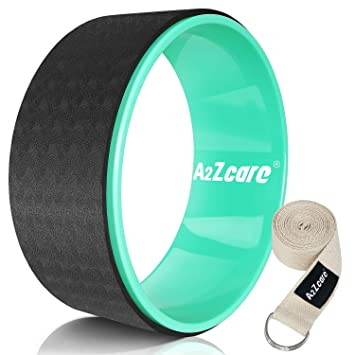 Amazon.com : A2ZCARE Yoga Wheel Designed for Dharma Yoga ...