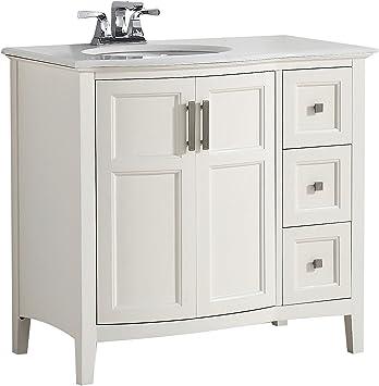 Simpli Home 4axcvwnrw 36 Winston Contemporary Bath Vanity