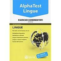 Alpha Test. Lingue. Esercizi commentati