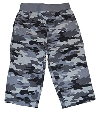 baed9f53c Amazon.com: Garanimals Baby Boys Gray Camo Cotton Pants: Clothing