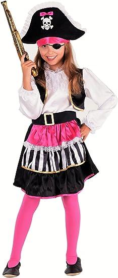 Lady piratin – Disfraz Pirata niña – piratin Disfraz infantil niña ...