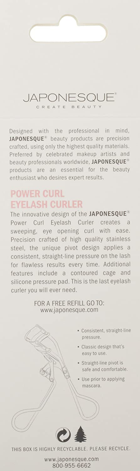 Amazon Japonesque Power Curl Eyelash Curler Luxury Beauty