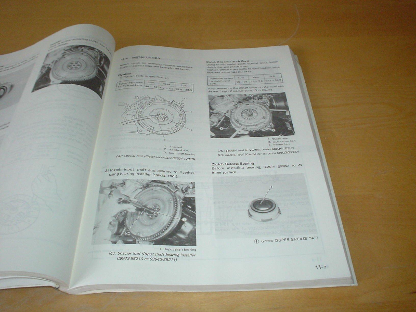 SUZUKI SUPER CARRY SK410 OWNERS SERVICE / REPAIR MANUAL HANDBOOK Not Haynes  (1991 - 1998): Amazon.co.uk: SUZUKI: Books