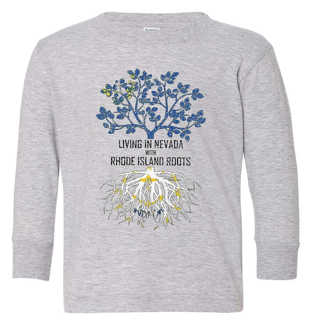 Tenacitee Babys Living in Nevada with Rhode Island Roots Shirt