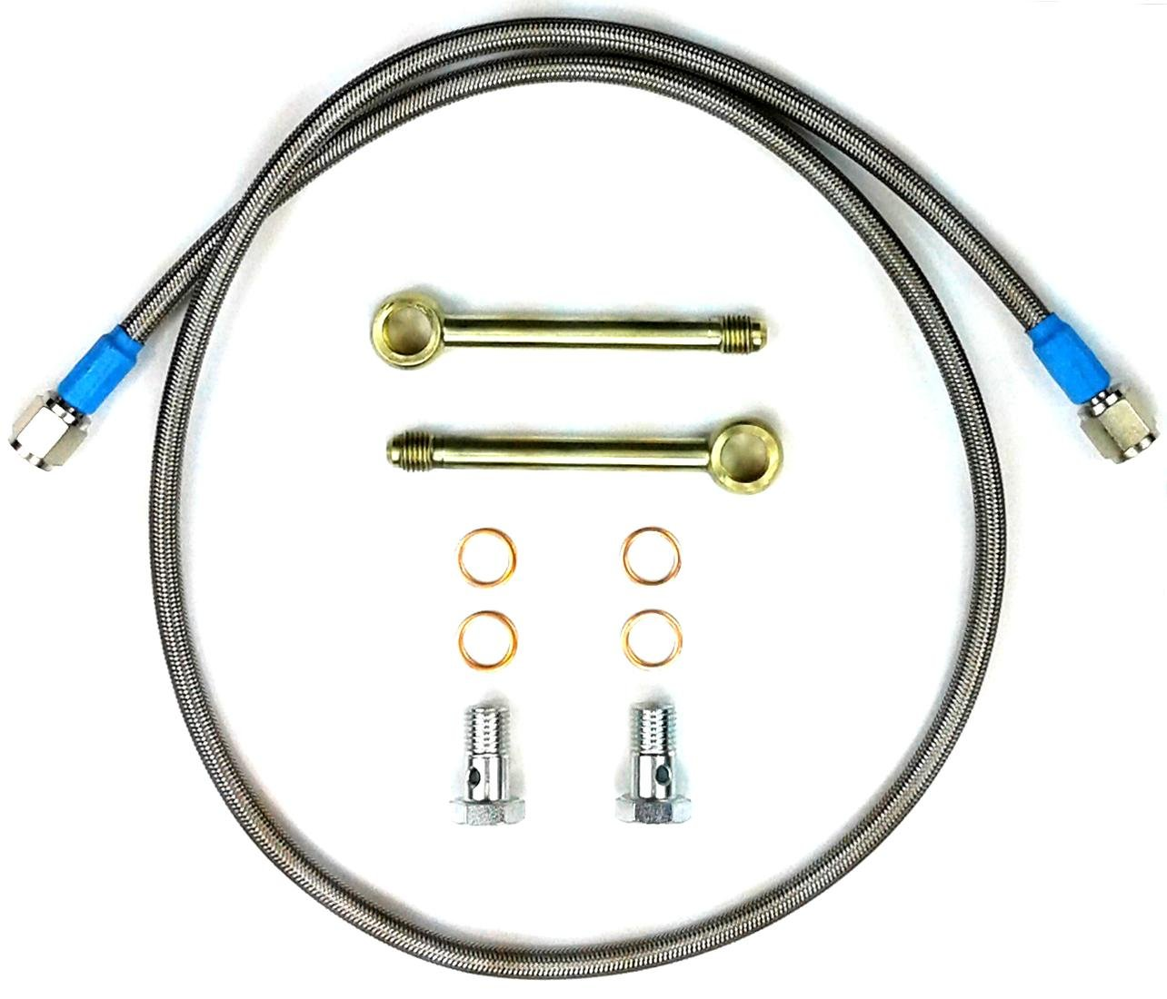 TamerX Fuel Line Crossover Kit 'Injector Saver' for 2003-2010 Ford Powerstroke 6.0L & Navistar VT365
