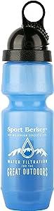 Berkey Sport Filtered Water Bottle BPA Free Portable 22oz New 2018 Model
