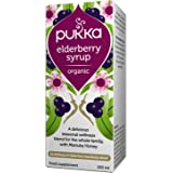 Pukka Herbs - Elderberry Syrup, Organic Blend with Ginger & Thyme - 100 ml Bottle