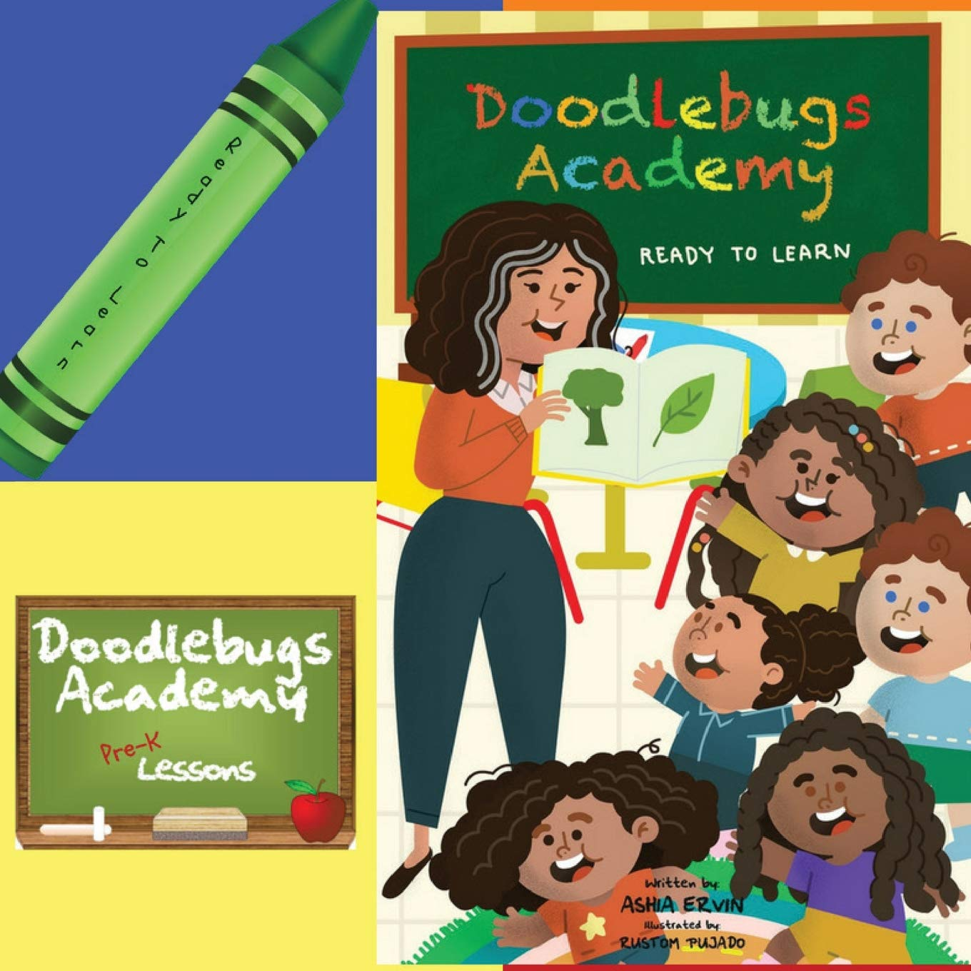 Read Online Ready to Learn: Doodlebugs Academy PDF