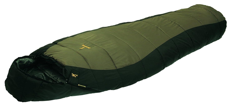 Browning Camping Yellowstone - Nailon Ripstop de 20 grados momia saco de dormir, Clay/Black: Amazon.es: Deportes y aire libre