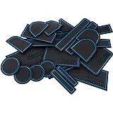日産 C25 セレナ/SERENA 標準/ハイウェイスター/ライダー ドアポケットマット ラバーマット ロゴ無し 22P 専用設計 ブルー