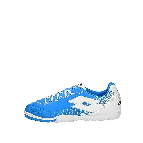 best sneakers 367fc 383dd Lotto Spider 700 XV Tf Jr, Scarpe da Calcetto Indoor Unisex-Bambini, (