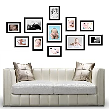 Amazon.com - Wall Hanging Art Home Decor Modern Gallery 11-piece ...