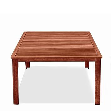 Amazon De Tuttolegno Di Badano Tisch Quadratisch Aus Holz Natur 75