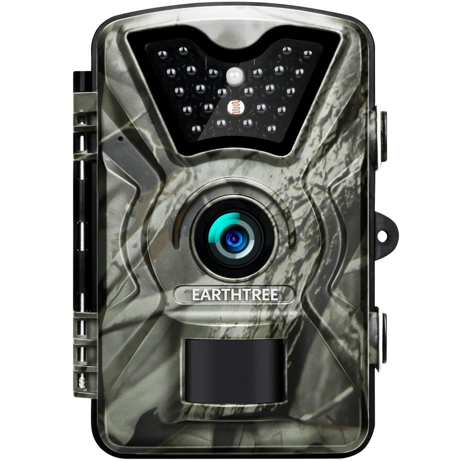Earthtree Trail Game Camera 12MP 1080P Deer Hunting Camera with 940nm IR LEDs,0.5s Trigger Speed,Night Vision Up to 65ft 20m,2.4 Display,IP66 Water Resistance for Game Home Security