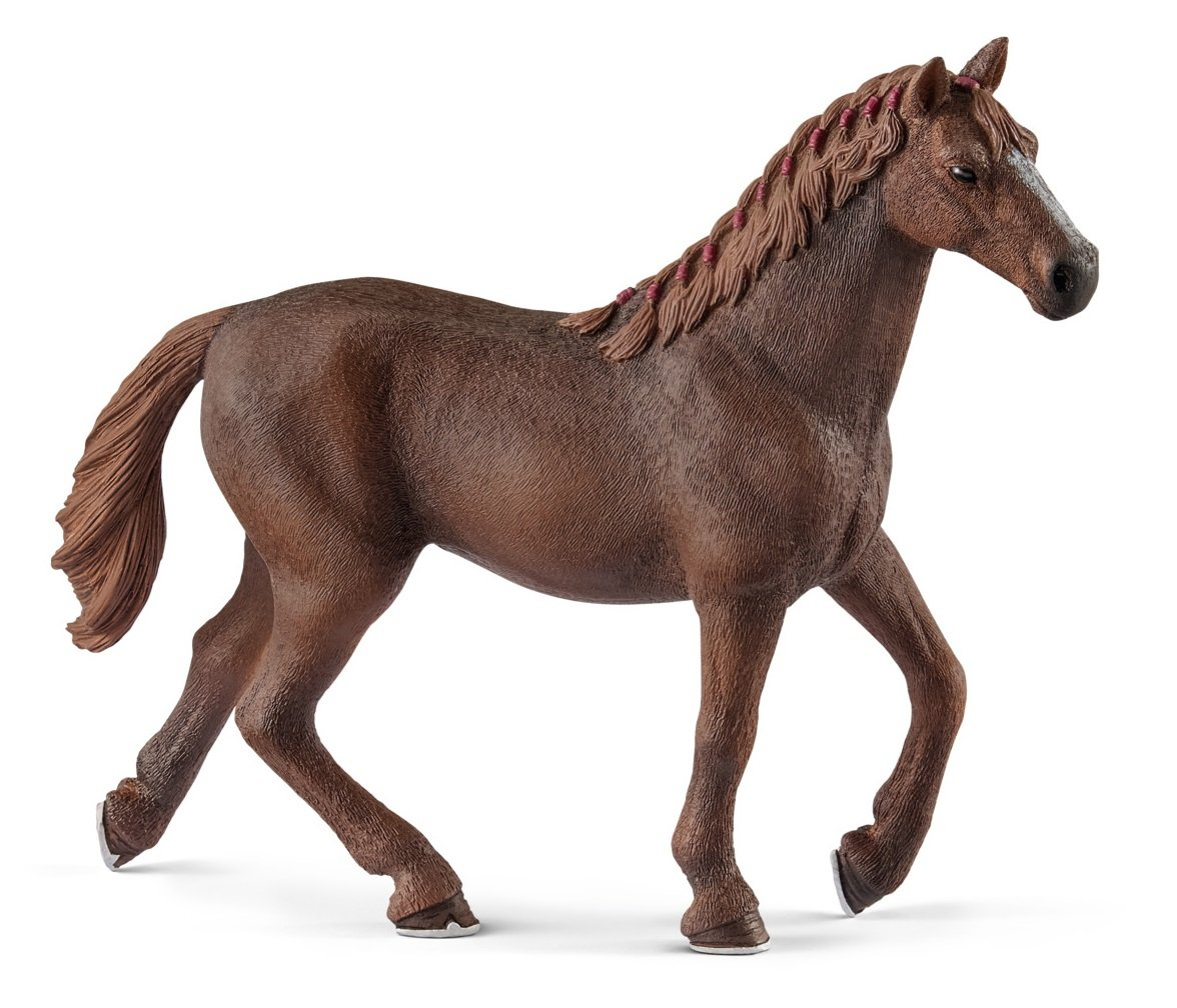 Schleich English Thoroughbred Mare Toy Figurine 13855