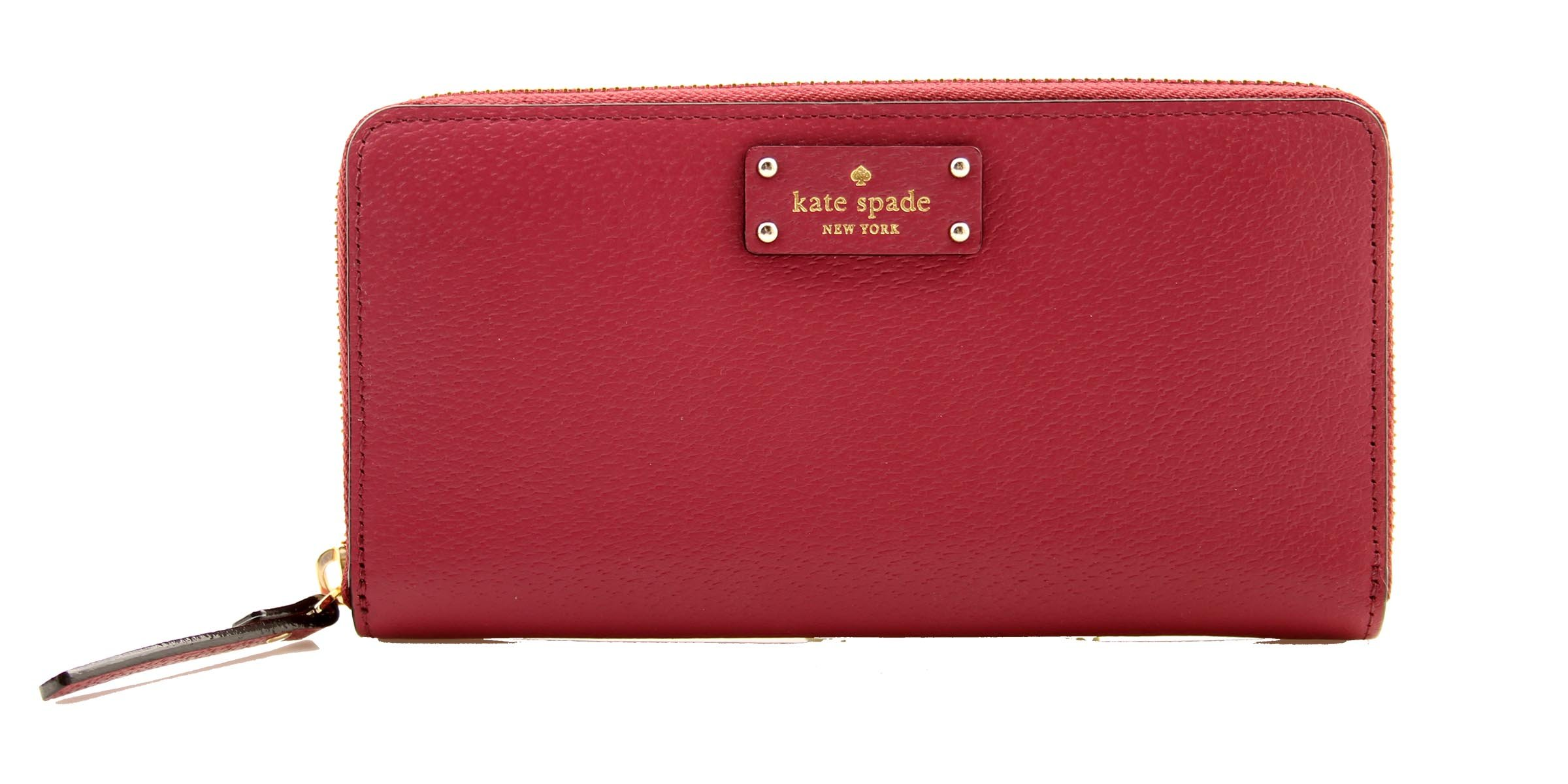 KATE SPADE Grove Street Neda Zip Around Wallet, WLRU2820