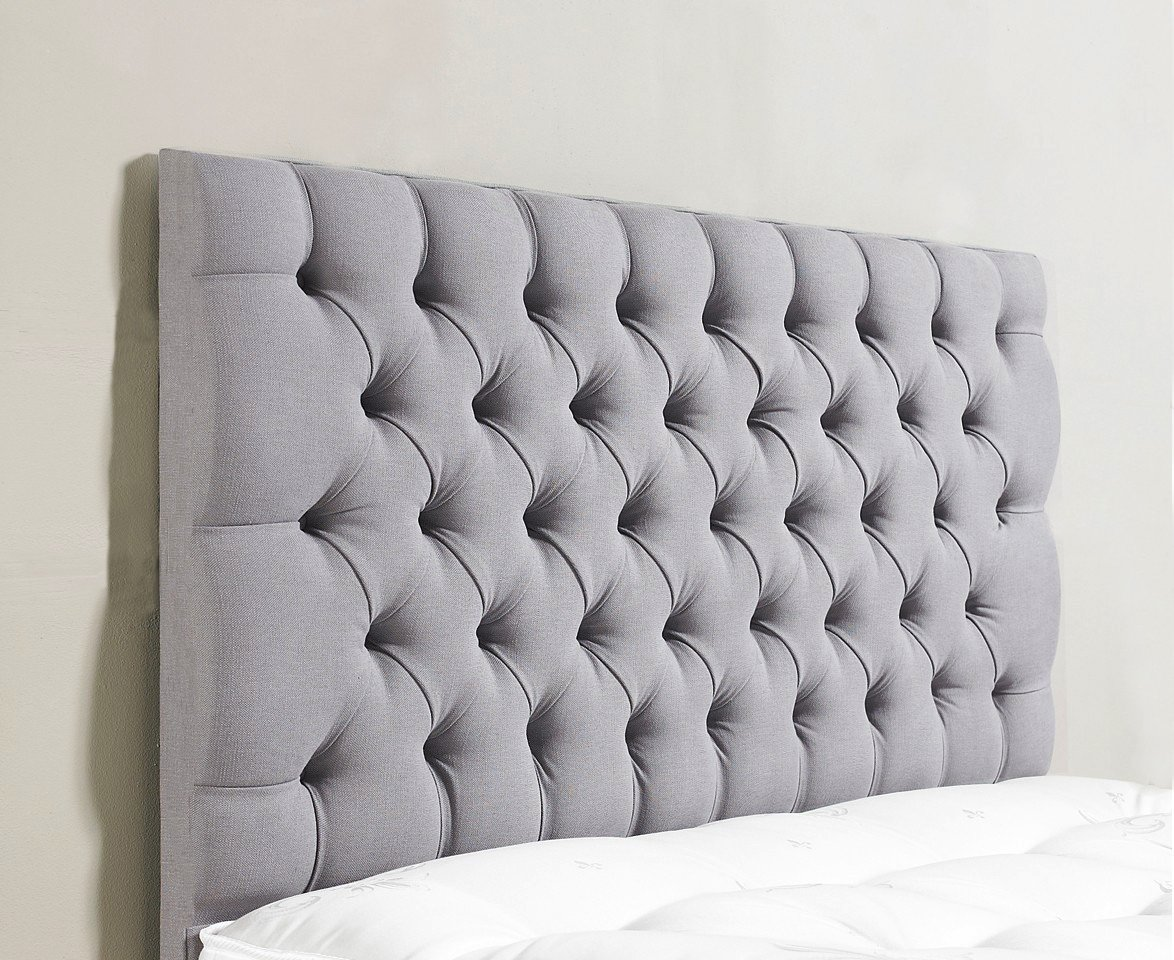 best service ba748 16014 Stylish Milan 4FT Small Double Size Bed Headboard Finished In A Luxury  Chenille Fabric - Available in Range of 8 Colours (BROWN CHENILLE)