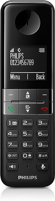 Philips D450 - Teléfono DECT, Negro (Importado): Amazon.es: Electrónica