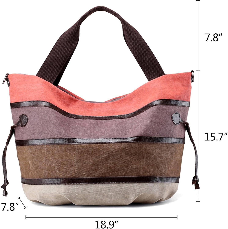 Women Girls Handbag Shoulder bag Medium Tote Messenger Shopper Travel Ladies Bag