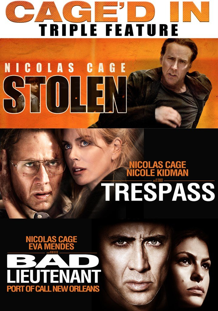 DVD : Nicolas Cage Triple Feature (2 Disc)