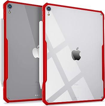 Funda transparente ultrafina para iPad Pro de 11 pulgadas, soporta carga inalámbrica de Apple Pencil [absorbe los impactos] TPU flexible, ligero: Amazon.es: Electrónica