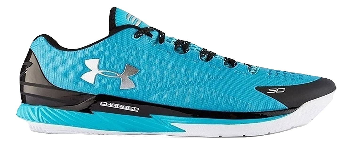 release date: e67a0 43849 Amazon.com   Under Armour Curry 1 Low Panthers Teal Black Silver  1269048-480 Men (9.5)   Shoes