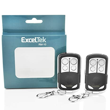 Liftmaster Garage Door Opener Programming >> Exceltek Compatible Garage Door Remote Control With Liftmaster Chamberlain Craftsman 371lm 971lm 891lm 953estd 139 53753 139 53680 2 Pack