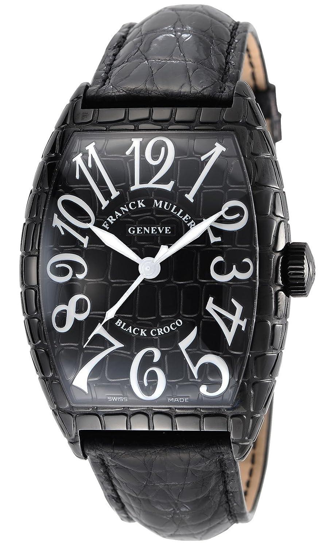 [フランクミュラー]FRANCK MULLER 腕時計 トノーカーベックス ブラック文字盤 クロコ革ベルト 自動巻 8880SCBLKCRO メンズ 【並行輸入品】 B008DOR1XE