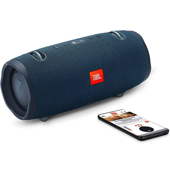 Amazon.com: JBL Xtreme 2 Portable Waterproof Wireless Bluetooth Speaker - Blue (Renewed): Home Audio & Theater