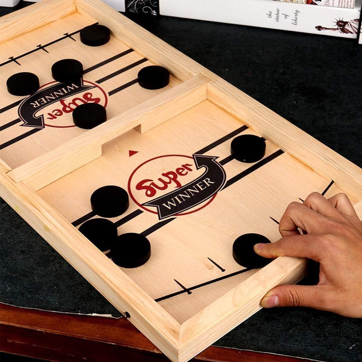 FunGatto Sling Puck Game, Mesa Slingpuck RáPido,Juguetes De Juegos ...