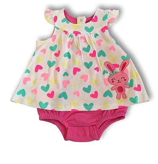 amazon com small wonders baby girl adorable summer dress w bloomers
