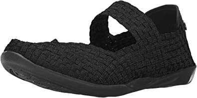 Bernie Mev Cuddly Shoes Black New