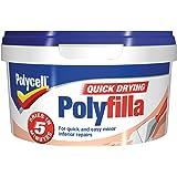 Polycell Multi-Purpose Quick Drying Polyfilla Tub, 500 g