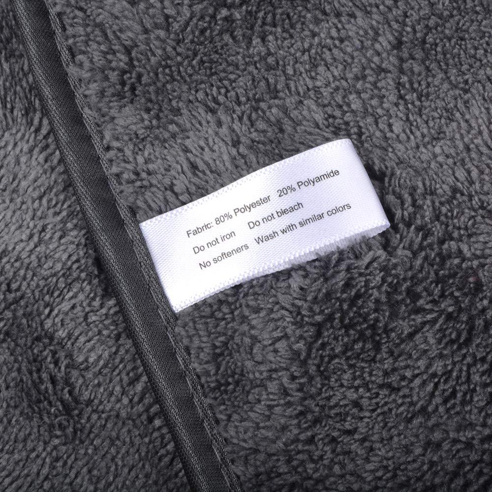Pa/ños de Limpieza de Coches de Microfibra de Felpa 380gsm Toallas de Pulido de Cera 40 cm x 56 cm Azul VIVOTE 3 Paquetes