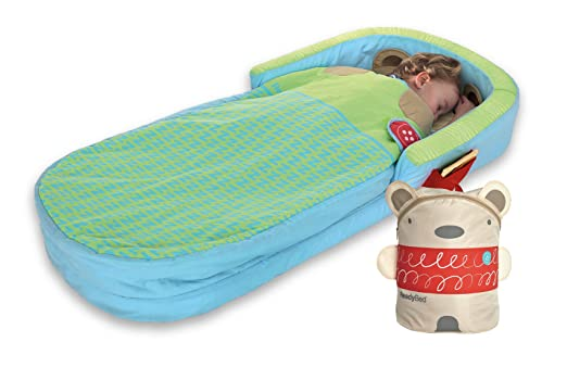 Worlds Apart ReadyBed 401SNG - Cama Hinchable portátil, Color Verde