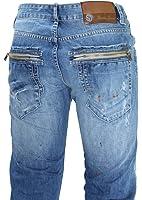 Sixth june - jeans homme bleu -