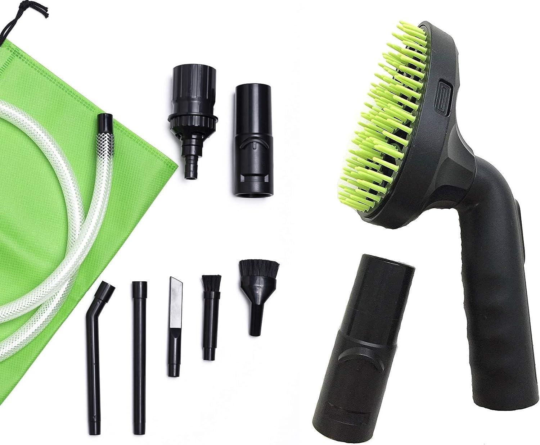 Green Label - Cepillo para aspiradora de pelo de mascotas y kit de ...