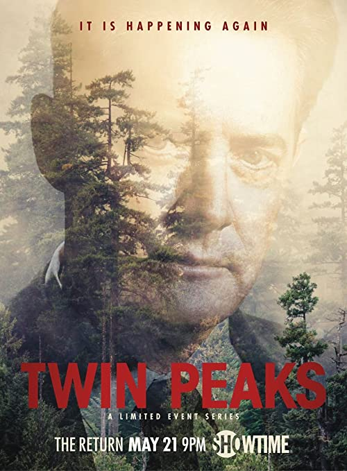 Amazon.com: Twin Peaks Movie Poster 18'' x 28'' - by FINESTPRINT88: Posters  & Prints
