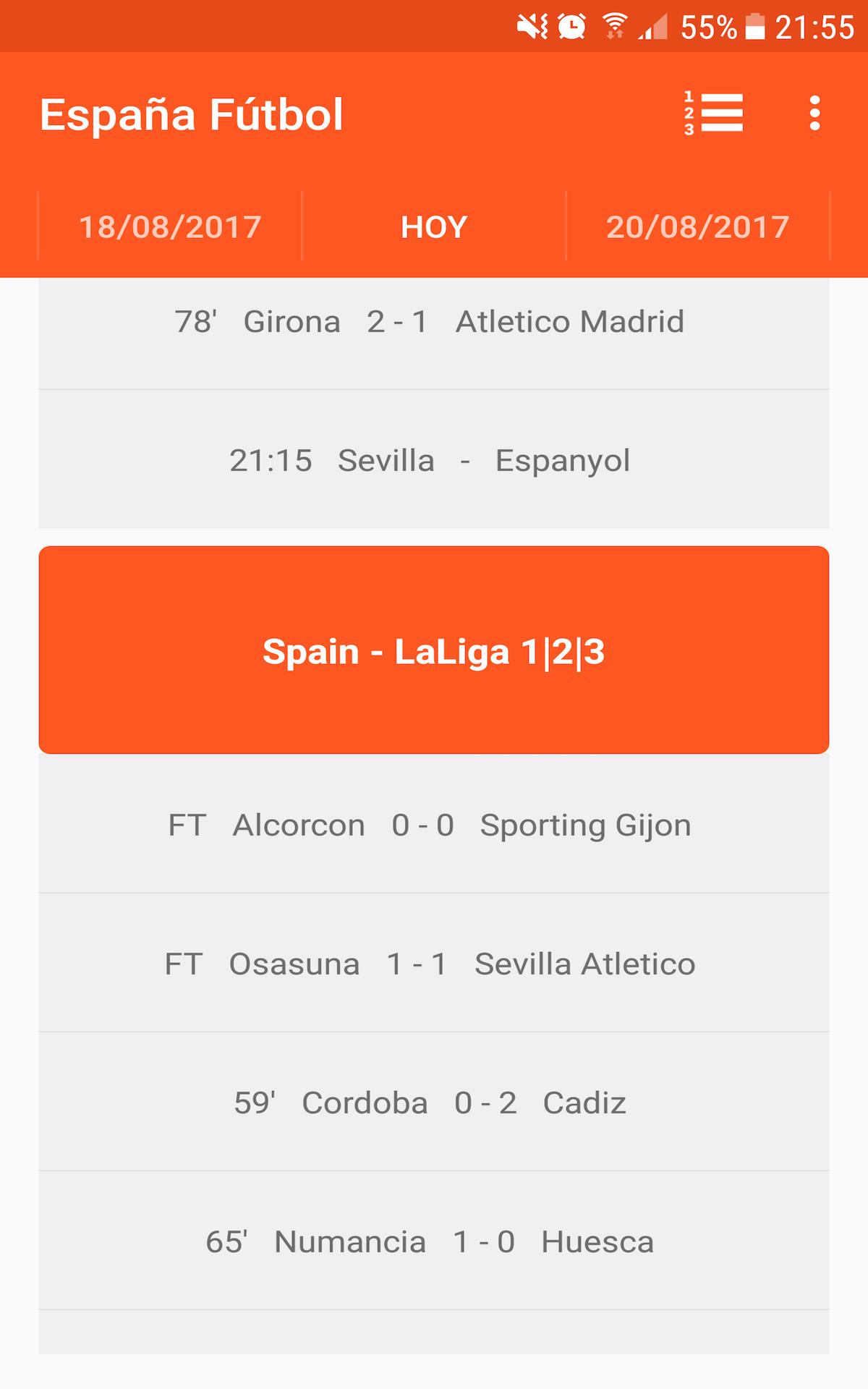La Liga Española Fútbol: Amazon.es: Appstore para Android