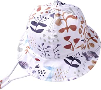 LLmoway Baby Toddler Girls Sun Protection Hat Kids Play Hats Cotton Bucket Hat