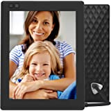 NIXPLAY Seed Digital Photo Frame WiFi 8 inch W08D, Black. Show Pictures on Your Frame Via Mobile App or Email. IPS Display. Smart Electronic Frame with Motion Sensor. Remote Control Included