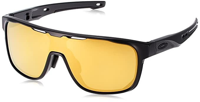 c90fcd74658 Image Unavailable. Image not available for. Colour  Oakley Men s Crossrange  Shield (a) Non-Polarized Iridium Rectangular Sunglasses