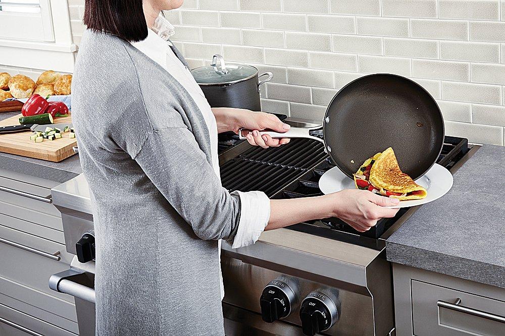 Calphalon 10 Piece Classic Nonstick Cookware Set, Grey by Calphalon (Image #6)